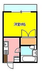 ステップイン88[1階]の間取り