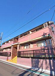 埼玉県富士見市東みずほ台3丁目の賃貸アパートの外観