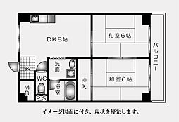 福地産業中広ビル--[402号室]の間取り