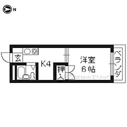 清水五条駅 3.5万円