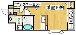 ING 1[3階]の間取り