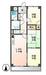 第2高杉マンション[2階]の間取り