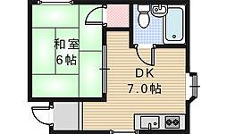 光和マンション[2階]の間取り