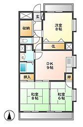 第2平安ビル[2階]の間取り