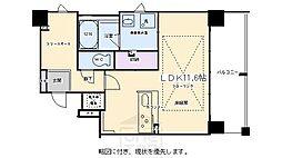 IL ROSSO堀川六角[201号室]の間取り