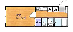 東京都江戸川区西瑞江3丁目の賃貸マンションの間取り