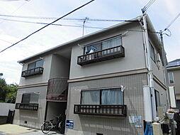 大阪府豊中市千里園2丁目の賃貸アパートの外観