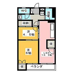 四ツ谷ビル[7階]の間取り