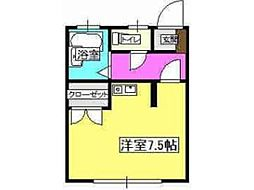 コーポミツキ[2階]の間取り