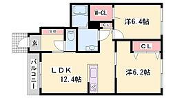 妻鹿駅 7.0万円