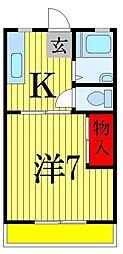 シティハウス[1階]の間取り
