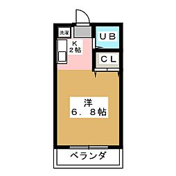 NEW PORT勝川 A棟[2階]の間取り