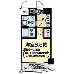 セレニテ甲子園II[0603号室]の間取り