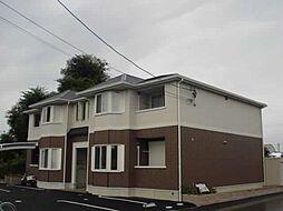 愛知県一宮市丹陽町重吉字城戸の賃貸アパートの外観