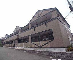 京都府京都市中京区西ノ京藤ノ木町の賃貸アパートの外観
