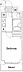 間取り,1K,面積22.04m2,賃料7.0万円,東武東上線 上板橋駅 徒歩5分,,東京都板橋区上板橋2丁目23-6