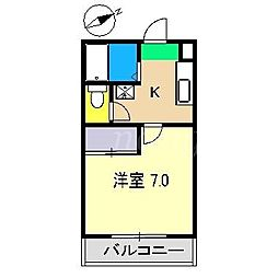 ビタミンハウス[2階]の間取り
