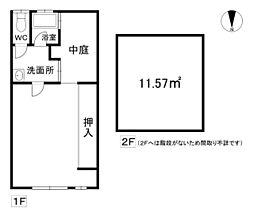 Osaka Metro長堀鶴見緑地線 松屋町駅 徒歩3分 1DKの間取り
