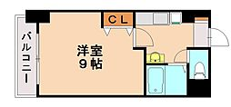 ニュー蛍雪芙蓉館[4階]の間取り