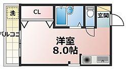大栄マンション[3階]の間取り