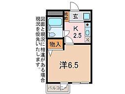 メゾンドールタイヨウ[2階]の間取り