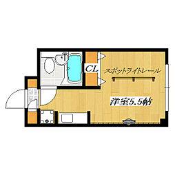 Estate Time3 〜エステート・タイム3〜[202号室]の間取り