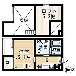 K'sハイツ(ケーズハイツ)[1階]の間取り