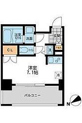 スペーシア三軒茶屋I[2階]の間取り