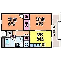 フジモトビル[2階]の間取り