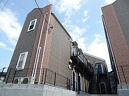 神奈川県横浜市南区山谷の賃貸アパートの外観