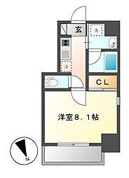 レジデンシア花の木[6階]の間取り