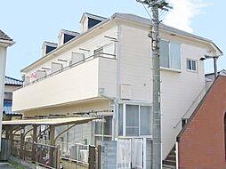 埼玉県ふじみ野市築地2丁目の賃貸アパートの外観