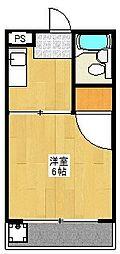 プラム21[402号室]の間取り