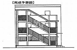鷹匠町アパート[1-1020号室]の外観