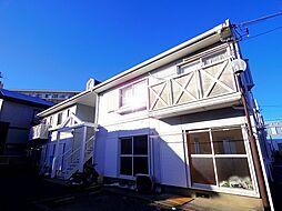 埼玉県所沢市若松町の賃貸アパートの外観