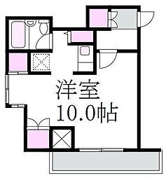 東京都杉並区成田東5丁目の賃貸マンションの間取り