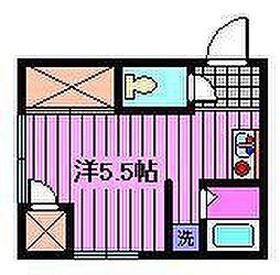 双葉荘[2号室]の間取り