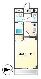 本州ビル3[1階]の間取り