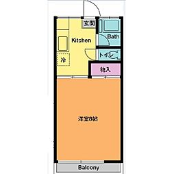 椿山荘[2階]の間取り