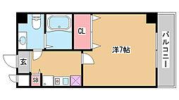 DOIマンション[50D号室]の間取り