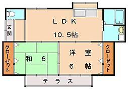 [一戸建] 福岡県古賀市今の庄1丁目 の賃貸【/】の間取り