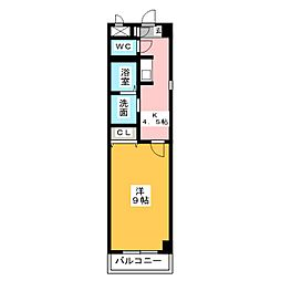 Aire Heiwa[2階]の間取り