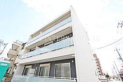 埼玉県越谷市大字蒲生の賃貸アパートの外観
