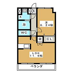 IDEAL[2階]の間取り