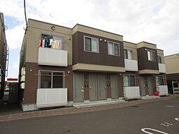 北海道札幌市東区北四十七条東19丁目の賃貸アパートの外観