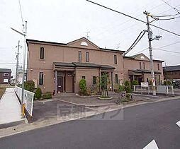 京都府八幡市八幡植松の賃貸アパートの外観
