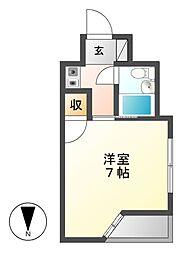 ジュネス平松[2階]の間取り