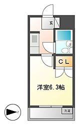 第27オーシャンハイツ[2階]の間取り