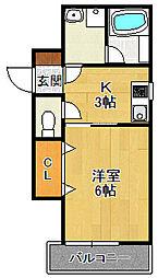PLACE ONE[2階]の間取り