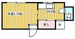 葵マンション[2階]の間取り